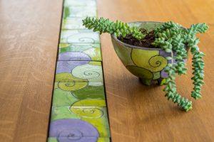 Wohndesign Tischdekoration aus Steinzeug Judith Smetana Lengenweang