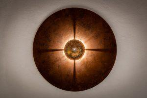 Wohndesign Wandlampe aus Steinzeug Judith Smetana Lengenweang
