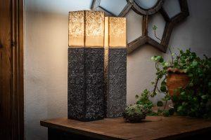 Wohndesign Stehlampen Keramik Lichtobjekte aus Porzellan und Steinzeug Judith Smetana Lengenwang im Ostallgäu