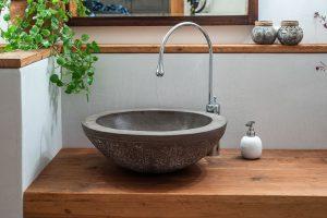 Wohndesign Waschbecken aus Steinzeug Judith Smetana Lengenweang
